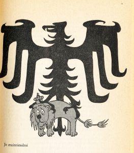 uit De Groene 1965, tekening: Opland