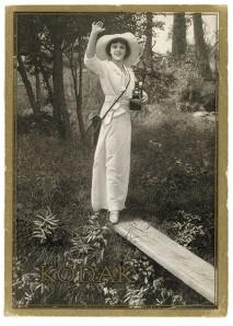 The Kodak girl
