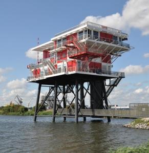 Toekomstig Pontgebouw Amsterdam Houthavens
