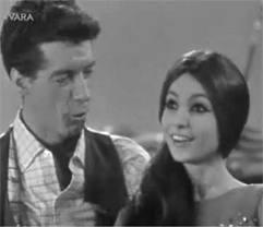 1964 met de jonge Rudi Carrell