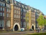 Gebouw van de Amsterdamse Tehuis Voor Arbeiders ATVA. op .zolder kregen we les