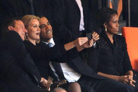 Obama+selfie