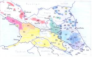 Talen van de Kaukasus