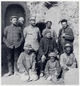 Albert von Le Cocq op expeditie