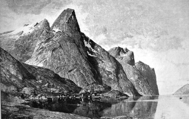 Boekillustratie 1926  'Lofodden Islands'