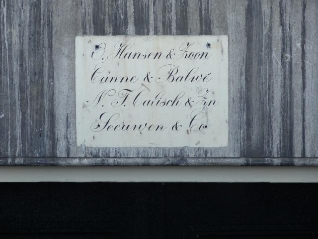 Prins Hendrikkade, boven het souterrrain