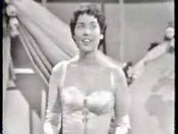 Corry Brokken 'Net als toen'  Songfestival 1957