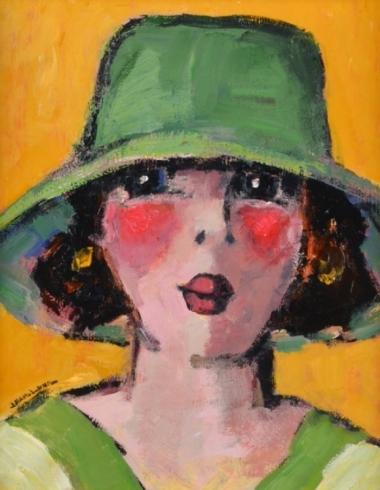 Portret Jean Leon