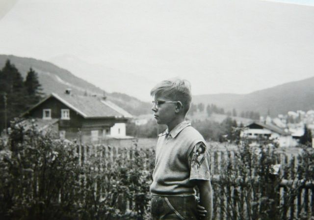 1956 op vakantie in Oostenrijk, foto: oom Hans