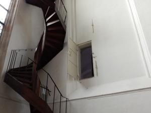 toegangsdeur tot de 'ijzeren kapel'