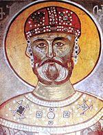 150px-David_IV_of_Georgia_(Gelati_fresco)