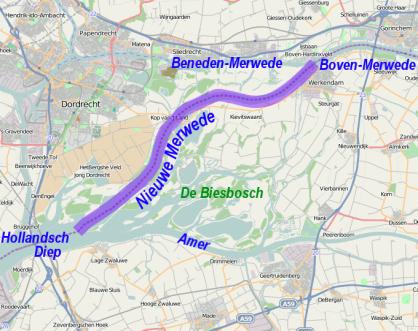 Nieuwe_Merwede_Location_osm